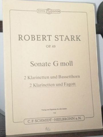 Stark R - Sonata in G Minor Op 49